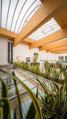 LAMILUX Continous Rooflight B - Intercable GmbH Bruneck